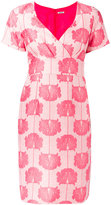 P.A.R.O.S.H. floral embroidered dress - women - Polyester/Polyamide/Silk/Viscose - S