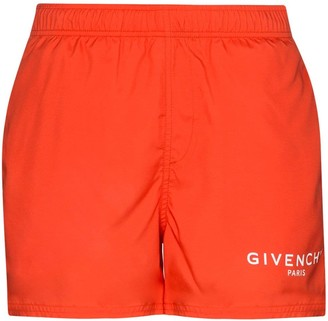 Givenchy Logo Swimming Trunks