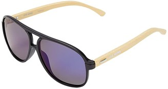 Steve Madden Brody (Matte Black) Fashion Sunglasses