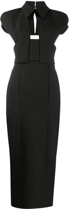 Emilia Wickstead Dacey cut-out detail dress