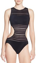 Profile by Gottex Some Like It Hot Cutout One Piece Swimsuit