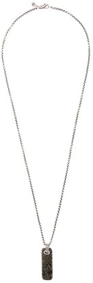 John Hardy Silver Classic Chain Necklace with Apache Gold Pendant