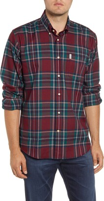 Barbour Dalby Regular Fit Check Thermo-Tech Button-Down Shirt