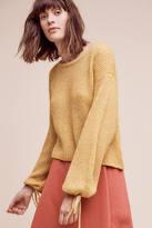 Ella Moss Papillon Balloon-Sleeve Sweater