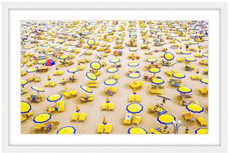 Marmont Hill Yellow Umbrellas
