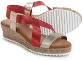 Eric Michael Sarah Wedge Sandals (For Women)