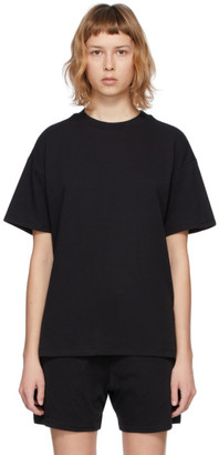 Essentials Three-Pack Black Jersey T-Shirts