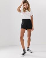 Asos Design DESIGN easy casual short with exposed zip