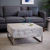 west elm Concrete + Chrome Coffee Table
