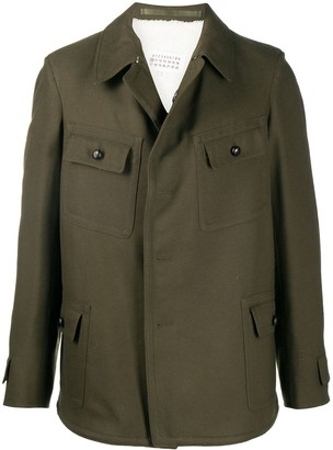 Maison Margiela Boxy Wool-Blend Jacket