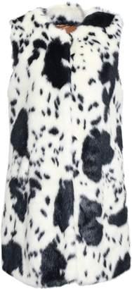Shrimps Leopard-print Faux Fur Vest