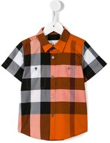 Burberry checked shirt - kids - Cotton - 6 yrs