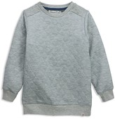 Sovereign Code Boys' Effect Quilted Sweatshirt - Sizes 2-7