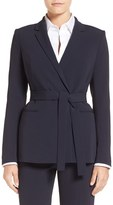 BOSS Women's Jabilta Belted Suit Jacket