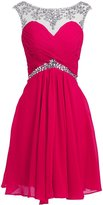 Fashion Plaza Short Prom Dress for Juniors Birthday Party D0242