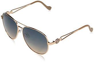 Jessica Simpson Women's J5863 Metal Aviator with Open Temple