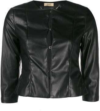 Liu Jo fitted cropped jacket