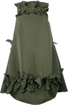 Maison Rabih Kayrouz bow detail flared dress - women - Polyester - 34