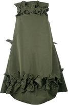 Maison Rabih Kayrouz bow detail flared dress - women - Polyester - 34