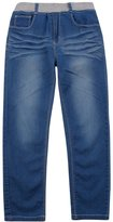 BYCR Boys Skinny Denim Jean Elastic Waist Pant for Kids Size 4-18 No. 7160108152