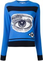 Stella McCartney eye intarsia jumper - women - Virgin Wool - 40