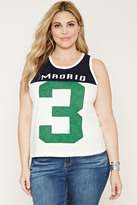 FOREVER 21+ Plus Size Madrid 3 Tank