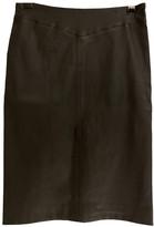 Joseph Black Leather Skirts