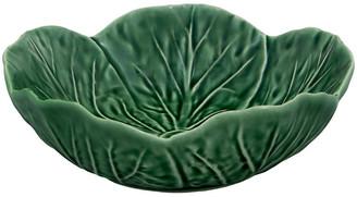 """Cabbage Cereal Bowl - Green - Bordallo Pinheiro - 6"""""""