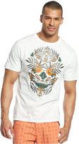 Sean John Big & Tall Skull Tropic T-Shirt