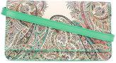 Etro paisley print shoulder bag - women - Cotton/Calf Leather/Polyester/PVC - One Size