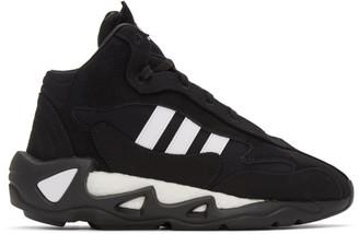 Y-3 Black and White FYW S-97 II Sneakers