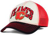 Reebok Calgary Flames Felt Mesh Slouch Cap