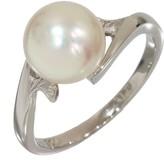 Mikimoto Platinum Pearl Ring Size 5.25