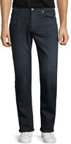 Joe's Jeans Brixton Oil Slick Straight-Leg Denim Jeans, Dark Gray