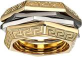 Versace Tricolor Ring Ring