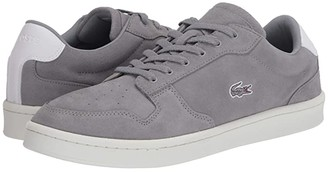 Lacoste Masters Cup 120 1 (Grey/Off-White) Men's Shoes
