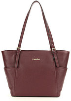 Calvin Klein Pebble Leather Tote
