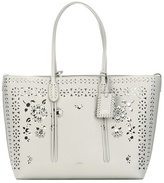 Polo Ralph Lauren Perforated Leather Shopper