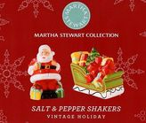 Martha Stewart Vintage Holiday Salt & Pepper Shakers Christmas Shakers Mscvtgsps