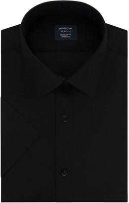 Arrow Men's Big & Tall Regular-Fit Short-Sleeved Stretch Dress Shirt