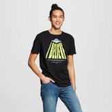 Mossimo Men's Graphic UFO Music T-Shirt Black