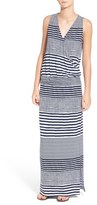 Tommy Bahama Women's 'A Stripe To Remember' Jersey Maxi Dress