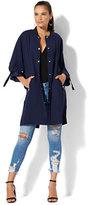 New York & Co. Soho Jeans - Long Bomber Jacket
