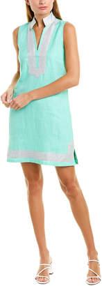Sail to Sable Linen Shift Dress