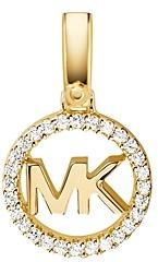 Michael Kors Custom Kors Sterling Silver Logo Charm in 14K Gold-Plated Sterling Silver, 14K Rose Gold-Plated Sterling Silver or Solid Sterling Silver