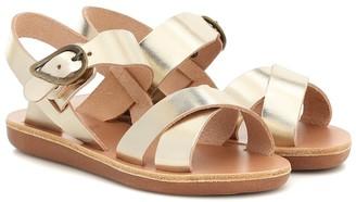 Ancient Greek Sandals Kids Little Socrates leather sandals