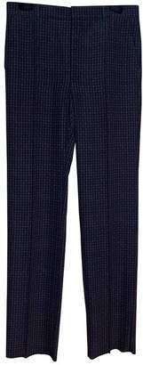Balenciaga Khaki Polyester Trousers