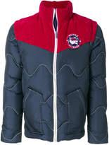 MAISON KITSUNÉ two-tone puffer jacket