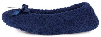 Isotoner Pillow Bow Slippers