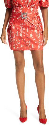 IORANE Cherry Tree Miniskirt